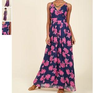 NWT MODCLOTH A Cordial Classic Maxi Dress in XL